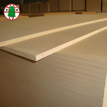 Light Color Textured Plain MDF Board For Flooring