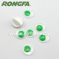15mm round plastic circle moving eyes diy toys