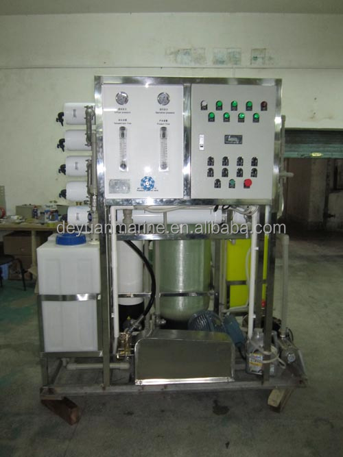 Marine Reverse Osmosis desalting unit ro water purification unit