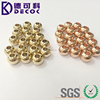 8mm Gold Plated Stainless Steel Ball with Hole