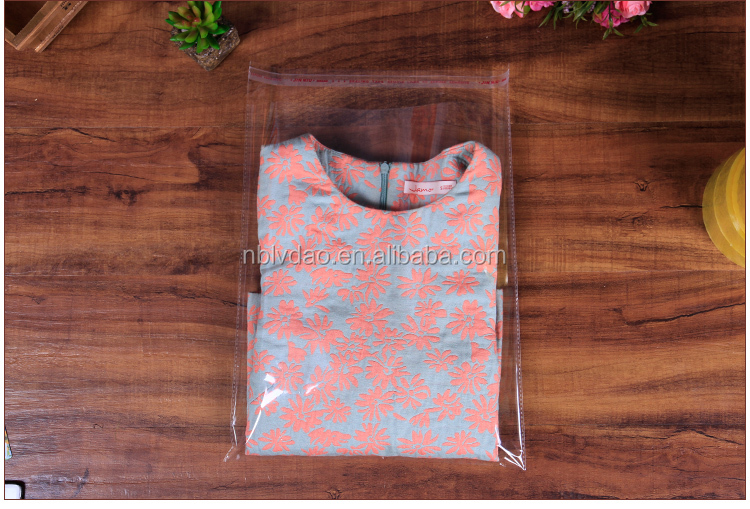 with 23 years experience custom printed clothing clear plastic packing garment bag