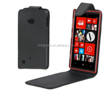 New Pure Color Mobile Phone Vertical Flip Leather Case for Nokia Lumia 720