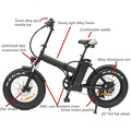 High quality fat tire electric bicycle with electric power