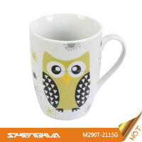 290cc Porcelain Mug with Chrismas Design
