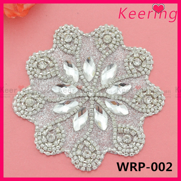 high heels shoe party decoration rhinestone applique WRP-<strong>002</strong> WRA-052