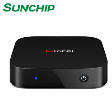Newest Wintel W9 Mini PC Win 10 & Android Dual OS Intel Quad Core 2G RAM 32G Rom TV Box In Multi-languages