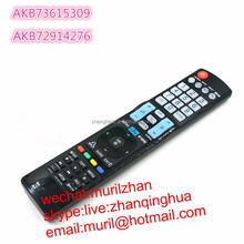 High quality 54 Keys 3D TV remote control AKB73615309 for lg in common use for AKB72914276