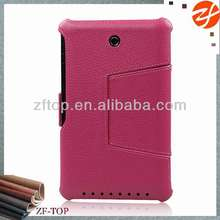 Colorful Leather Tablet Folio Case with Smart Magnetic stand Cover for Asus Memo Pad HD 7 Me 173X