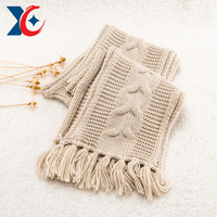 Manufacturer Knitted Scarf Hat Glove Sets