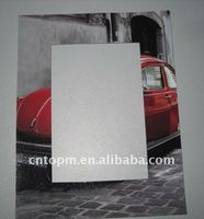 of Red 4 color Printed magnetic decorative photo frame sheet for home