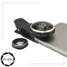 Universal clip 2 in 1 acrylic phone camera lens for mobile phone