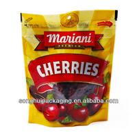 plastic dried cherries packaging bags / dried fruit bags