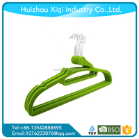 High Quality velvet clothes hanger or clothes hanger velvet and hanger velvet