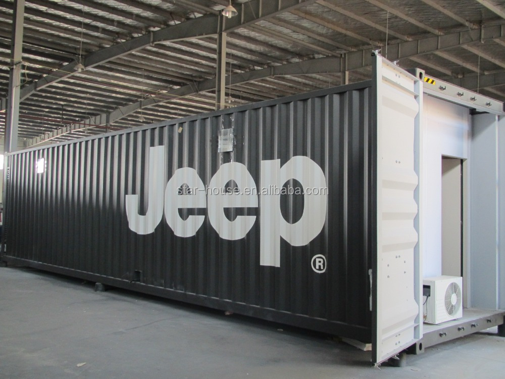 40ft container house for hotel,office,apartment,toilet,shop&camp