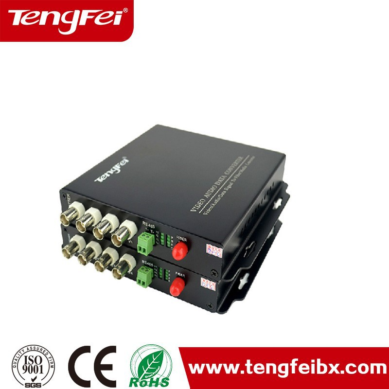 4 Channel ip to analog converter video converter