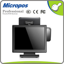 15 inch high resolution touch screen monitor with VGA Video Audio
