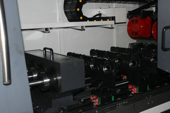 Four-spindle CNC Deep Hole Drilling Machine