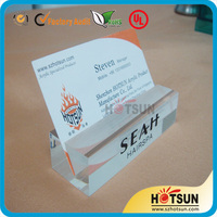 High Quality Acrylic Price Tag Holder Acrylic Name Tag Table Card Holder
