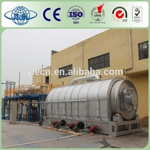 waste plastic pyrolysis recycling plant to diesel