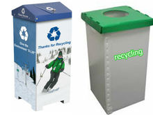 corrugated plastic recycle bin ,corrugated plastic trash bin,waste bin