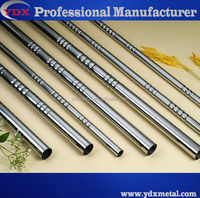 Good quality and beautiful Stainless steel decorative thread tube