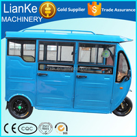 closed electric tricycle for passenger/electric tricycle for kids/electric tricycle for adults