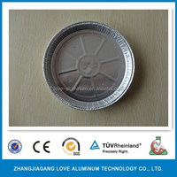 Disposable Best-Selling Environmental 7'' Round Aluminum Foil Shallow Pie Pan Container Pie Pan