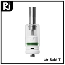 2 in1 vaporizer dab ceramic atomizer Mr.Bald T wax vape pen pipe