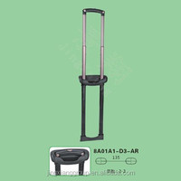 Guangzhou JingXiang Telescopic Luggage Pull Handle Parts Metal Suitcase Handle For Foldable Trolley Shopping Bag