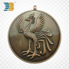 custom logo 3D antique copper souvenir metal medal
