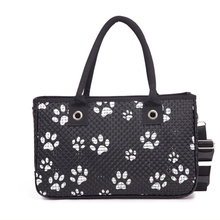 High quality pu bag with printed,pet carrier bag for sale