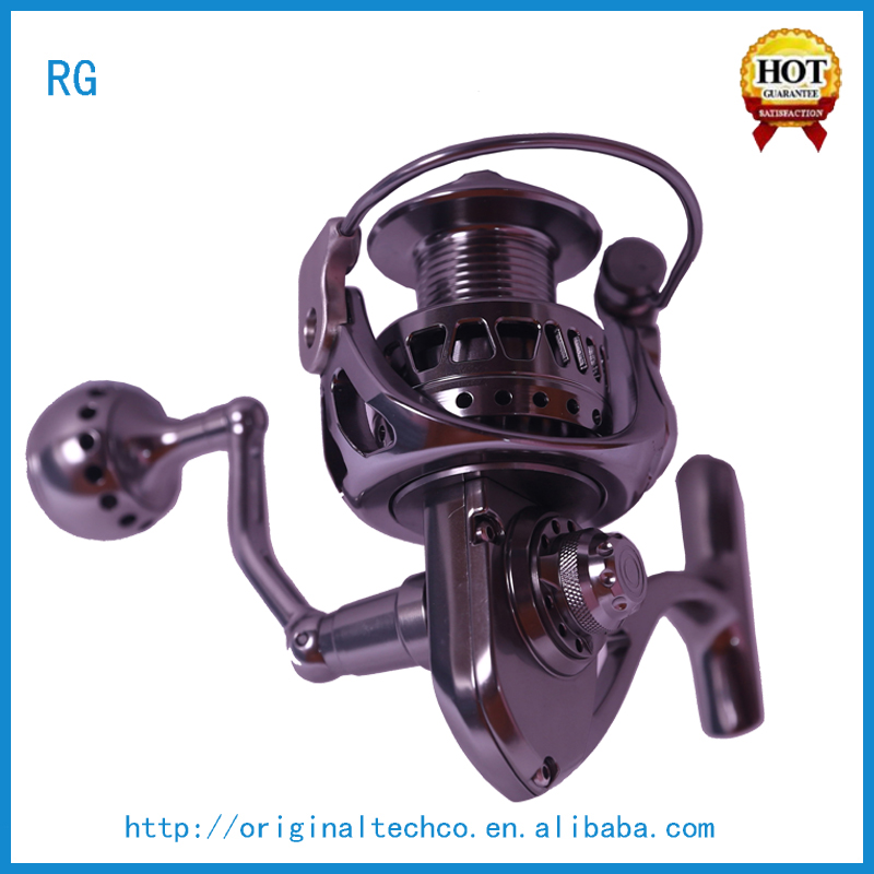 2 Speed CNC Baitcasting Trolling Fishing Reel 15w 18w 20w 30w 50w 80w Factory Stainless Reel Fishing