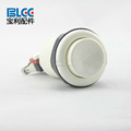 dual color illuminated kan-15 momentary 12 volt push button switch for game machine
