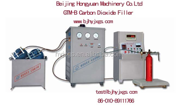 CO2 fire extinguisher filling machine GTM-B