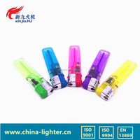 Europe standard disposable plastic cigarette electronic lighter