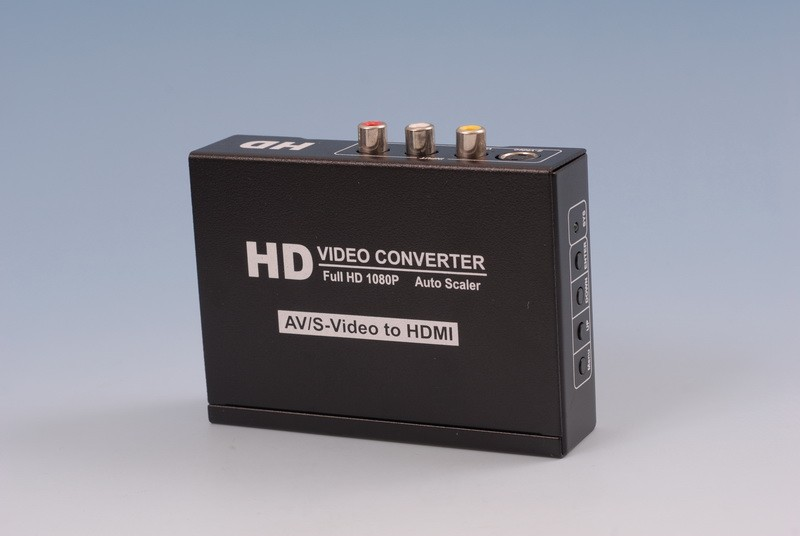 CVBS+S-Video+<strong>R</strong>/L Audio to HDMI Converter Full HD <strong>1080P</strong>