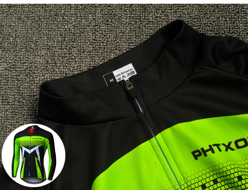 2018 Breathable Long Sleeve Cycling Set