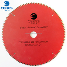 Alibaba Golden supplier 115mm tct saw blade for aluminum cutting