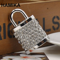 U Disk Flash Disk Crystal Lock 8GB Jewelry Usb Flash Drive Jewelry Usb Memory Pen Driver Gifts Gadget Pendrive