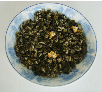 Chinese jasmine green tea best price Jasmine Da bai hao flavor tea