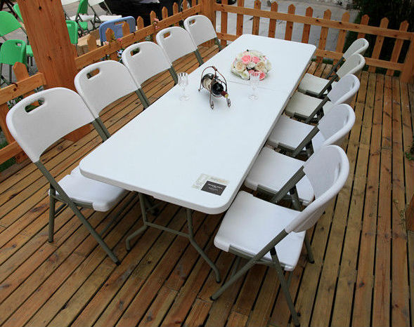 (SY-240C) 240mm Long Cheap party tables and chairs for sale