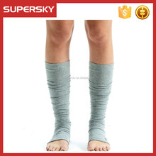 A-90 yoga leg warmers toe-less dance socks knee high pedicure socks