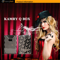 kamry authentic Q Box! 2015 new products best selling products electronic cigarette china kamry q box in stock
