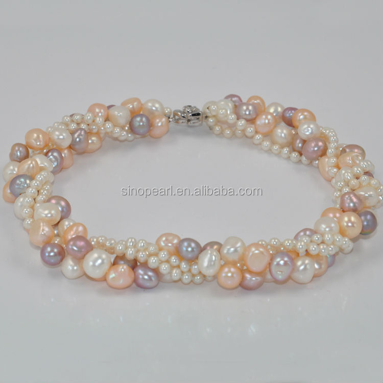freshwater pearl string