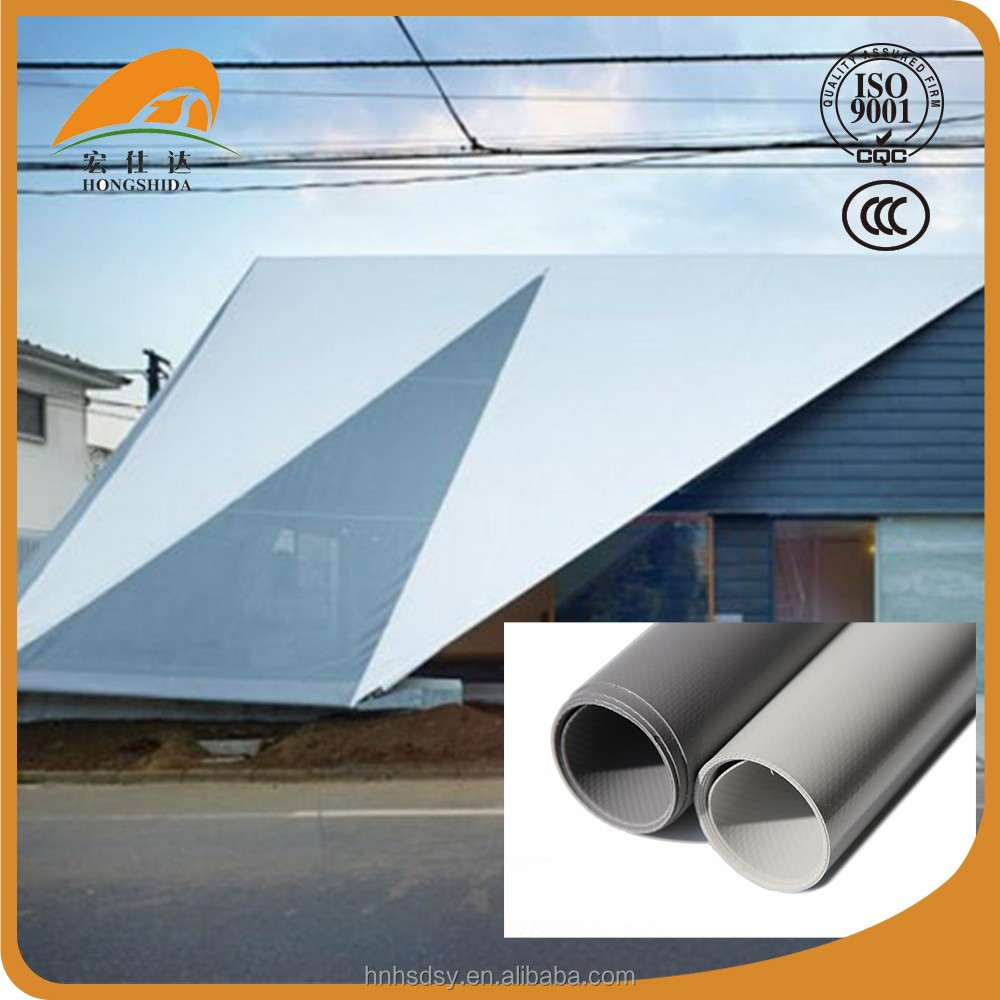 Custom color pvc tarpaulin in roll for tent and cover