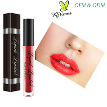 High Quality Natural Waterproof Kissproof Make Your Own Brand Name Top Halal Matte Liquid Lipstick