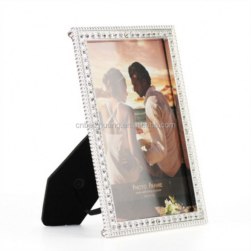 battery battery operated metal photo frame photo frames for sale poly resin photo frame