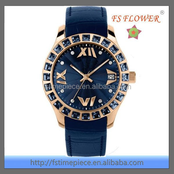 FS FLOWER - High Grade Men's Diamond Luxury Watch