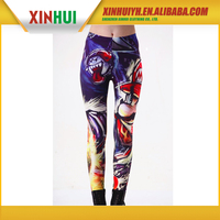 absolutely factory price top quality 90% polyester 10% spandex yoga pants wholesale
