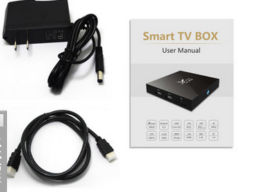 X96 smart tv box amlogic s905X 1G+8G 4k Kodi android 6.0 tv box
